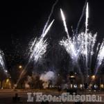 Pinerolo, capodanno in piazza, una bella festa