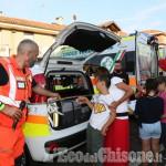 None : Croce verde inaugurazione ambulanza e automediche