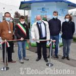 Riva di Pinerolo inaugurato Punto Acqua SMAT