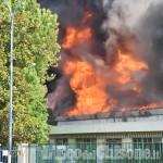 Roletto: Incendio alla fabbrica di vernici Cia