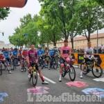 Giro d'Italia: seconda tappa partita da Stipinigi, passaggio nel Pinerolese