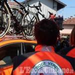Le Croci Verdi di Pinerolo, Cavour, Porte e Perosa con l'Anpas per l'assistenza alla Alba-Sestriere