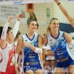 Volley serie A2 donne, Eurospin Ford Sara Pinerolo a spron battuto: 3-0 ai danni del Club Italia