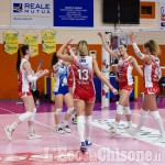 Volley serie A2, in Romagna rimonta Pinerolo fino al tie break: 3-2 Omag