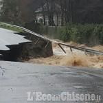 Allerta meteo in Val Chisone: evacuata la zona minacciata dal rio Albona dove è disperso un uomo