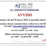 Villar Perosa: chiuso sportello Asl, ma restano i servizi prelievi e infermieristico