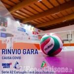 Volley serie A2, con il nuovo rinvio causa Covid per Pinerolo in campo la B2: vittoria a Cumiana