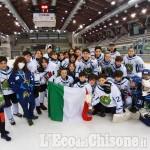 Hockey ghiaccio, Pinerolo Campione d'Italia di under 13