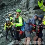 Recuperati da Soccorso alpino e Vigili del fuoco gli scout bloccati sul monte Granero