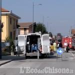 Castagnole: fuga di gas alle scuole, alunni portati in piazza