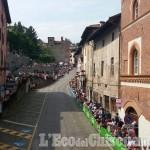 Giro d'Italia 2016: la corsa sempre più vicina a Pinerolo, è attesa sul muro di S. Maurizio