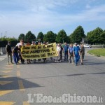 Vinovo: protesta degli operatori dell'ippica