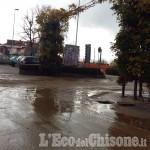 Alluvione: Cavour, sott'acqua per colpa del Rio Marrone