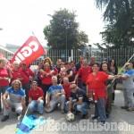 Volvera: dipendenti delle pulizie in sciopero davanti alla Mopar