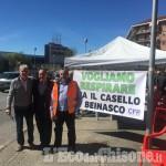 Rivalta: al via il presidio di Pasta per dire no al casello dell'autostrada