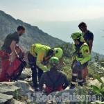 Sanfront: scalatore ferito alla falesia, recuperato dai soccorritori