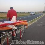 Rivalta: ciclista grave al Cto dopo una rovinosa caduta