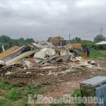 Beinasco: blitz di carabinieri e Polizia locale, demolito un altro campo nomadi a Borgaretto