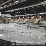 Ice Stadium Pinerolo, finalmente il ghiaccio: apertura domenica 22