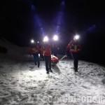 Escursionista ferito sui monti di Coazze salvato dal Soccorso alpino