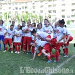 Calcio: Pinerolo maschile ai play-out, femminile vince il campionato di C