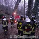 Torre Pellice: 57enne muore mentre tagliava legna in un bosco di regione Coppieri