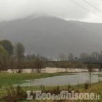 Allerta Meteo: chiuso anche il ponte della variante tra Villar Perosa e S. Germano (area bacino)