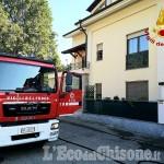 Piossasco: fiamme in un'abitazione di via san Bernardo