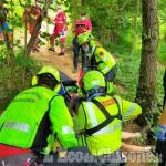 Giaveno: cade dalla mountain-bike, finisce in elisoccorso al Cto