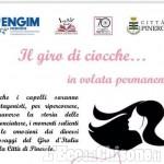 Verso il Giro d'Italia serata con acconciature e storia del ciclismo all'Engim di Pinerolo