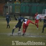 Calcio: Pinerolo recupera il Bussoleno con un rigore