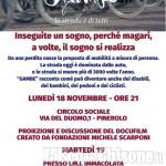 Sicurezza per i ciclisti, lunedì 18 serata docufilm a Pinerolo con Fondazione Michele Scarponi