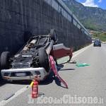 Revello: schianto fra auto in frazione san Grato, due i feriti