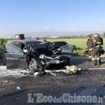 Orbassano: schianto frontale tra auto e tir sulla Sp142, due i feriti