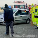 Orbassano: carambola fra auto sulla tangenziale sud, due i feriti