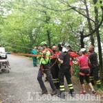 Villar Perosa: cercatore di funghi cade in un dirupo, l'intervento del Soccorso Alpino