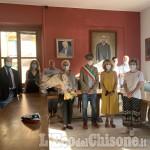 Villar Perosa: Margherita Agnelli all'intitolazione della sala consigliare all'Avvocato
