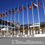 Inaugurati a Sestriere i Campionati sciistici delle Truppe alpine