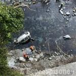 Perrero: salvi dopo un volo di venti metri nel torrente