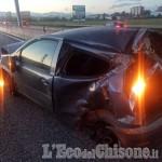 Nichelino: scontro tra auto e camion in tangenziale, ferito 21enne di Vinovo