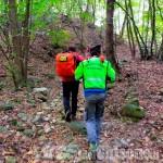 79enne cade nei boschi tra Giaveno e Avigliana, l'intervento del Soccorso Alpino