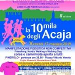 Confermata l'edizione della 10 mila degli Acaja, alla sera di venerdì 17