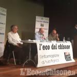 Airasca, oltre 200 persone per il faccia a faccia elettorale tra i tre candidati sindaci
