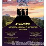 AltRe Note a Usseaux: maratona musicale  il 13 e 14 luglio