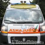 Sanfront: cade dalla moto lungo una strada tra i boschi, ferito 38enne