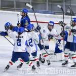 Hockey Ghiaccio, pre qualificazione olimpica a Torre Pellice: poker italiano alla Spagna
