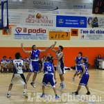 Basket C silver, Pinerolo al terzo acuto di fila: blitz alla Ginnastica