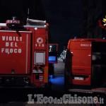 Cumiana: incendio al deposito Gtt, un bus distrutto dalle fiamme