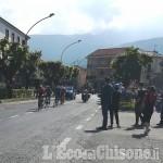 Giro d'Italia: otto davanti verso il muro che precede il traguardo di Pinerolo