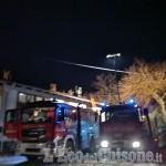 Bagnolo, tetto in fiamme il primo dell'anno